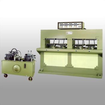 电热式油压成型压纹裁断机