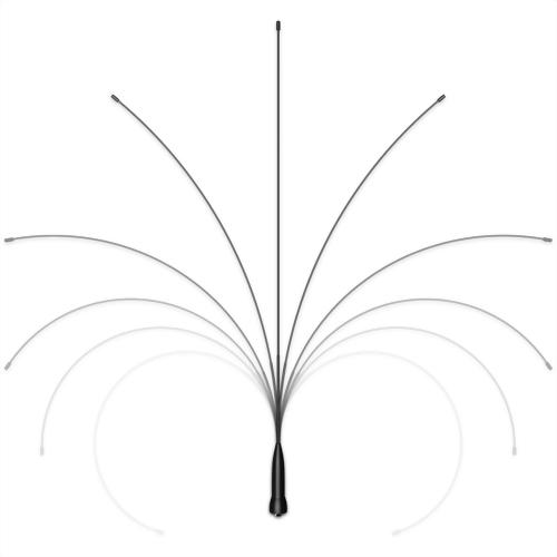 GRA-SMA24 記憶合金無線電天線