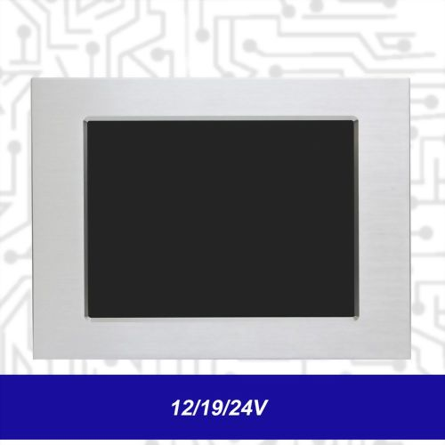 "12.1"" J1900 Touch Panel PC - Front IP65 5 Wire Resistive (12/19/24V)"
