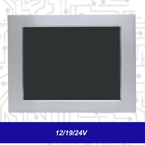 "15"" J1900 Touch Panel PC - Front IP65 5 Wire Reisistive (12/19/24V)"