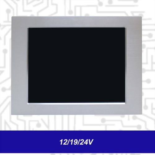 "17"" J1900 Touch Panel PC - Front IP65 5 Wire Reisistive (12/19/24V)"