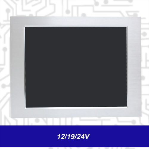 "19"" J1900 Touch Panel PC - Front IP65 5 Wire Resistive (12/19/24V)"
