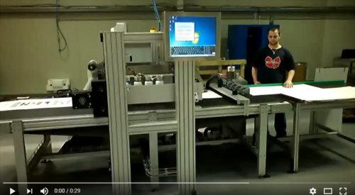 Kingdy's case Performance Video - Digital Printer