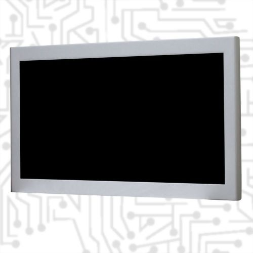 "24"" E3845 Wide Temperature Metal Chassis Touch Panel PC 5 wire Resistive"