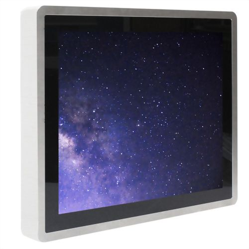 "17"" Wide Temperature Intel E3845  POE True Flat Touch Panel PC-Full IP66"