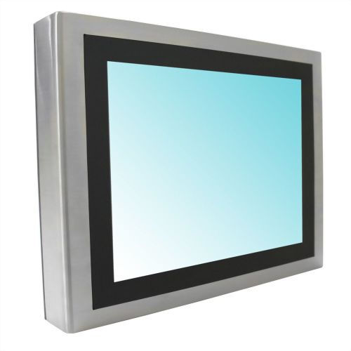 "15"" Wide Temperature E3845 POE Panel PC- Full IP65 PCAP/5W (12V)"
