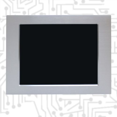 "17"" 5W Touch Monitor-Front IP65"
