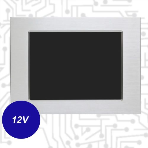 "12.1"" J1900 Touch Panel PC - Front IP65 5 Wire Resistive(12V)"