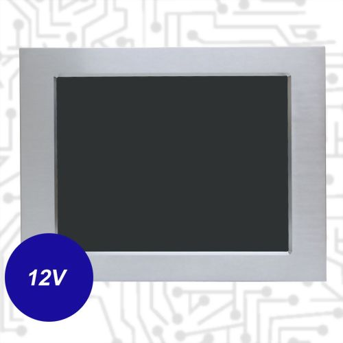 "15"" J1900 Touch Panel PC - Front IP65 5 Wire Resistive(12V)"