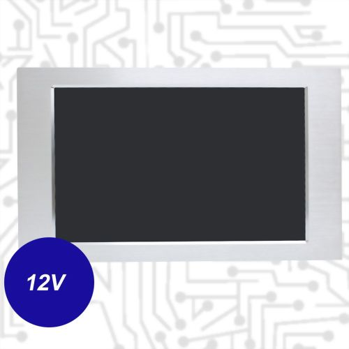 "17.3"" J1900 Touch Panel PC - Front IP65 5 Wire Resistive(12V)"