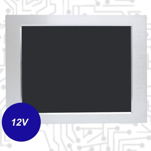 "19""J1900 Touch Panel PC - Front IP65 5 Wire Resistive (12V)"