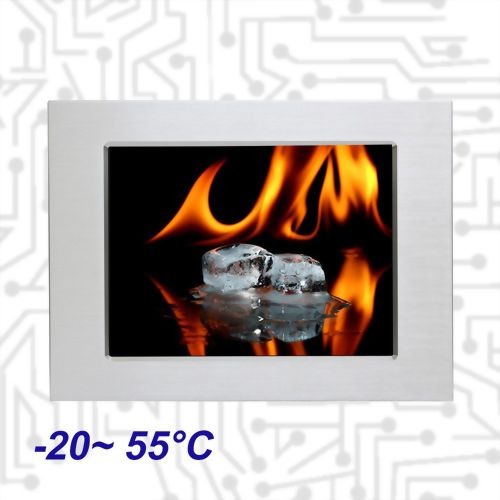 "12.1"" E3845 Wide Temperature  Touch Panel PC 5 Wire Resistive"