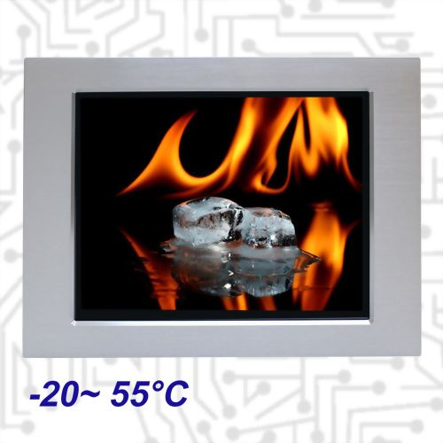 "17"" E3845 Wide Temperature Touch Panel PC 5 wire Resistive"