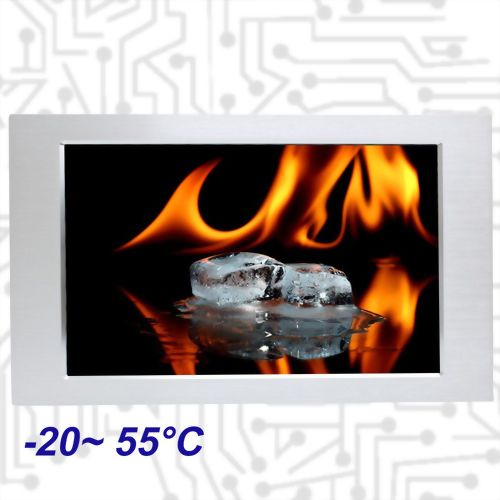"18.5"" E3845 Wide Temperature Touch Panel PC 5 wire Resistive"
