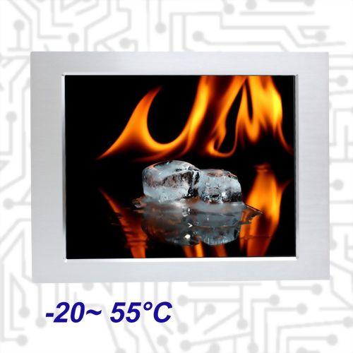 """19"""" E3845 Wide Temperature Touch Panel PC 5 wire Resistive"""