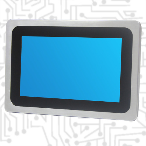 "7 "" True Flat Touch Display-Front IP65 PCAP"
