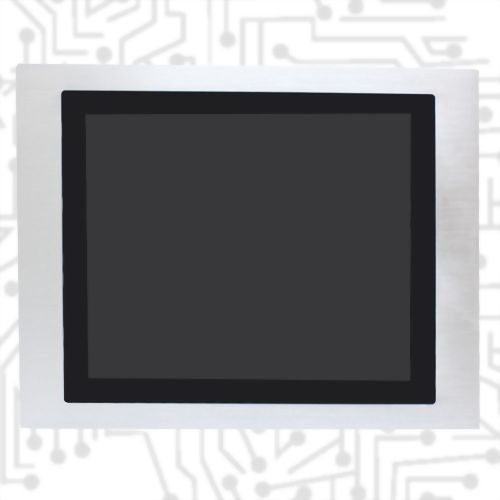 "19"" J1900 True Flat Touch Panel PC - Front IP65 5 Wire Resistive(12V)"