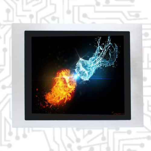 "15"" E3845 Wide Temperature True Flat Touch Panel PC PCAP /5W"