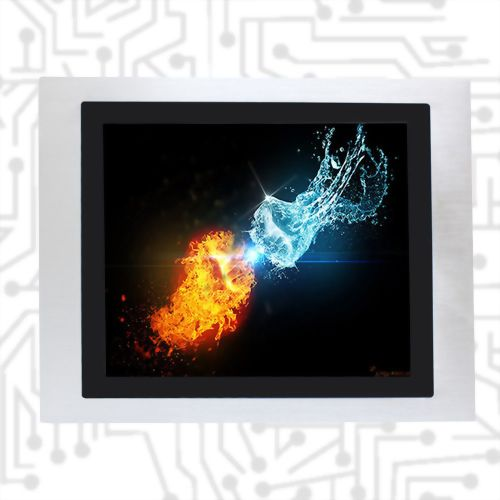 "17"" E3845 Wide Temperature True Flat Touch Panel PC PCAP/5W"