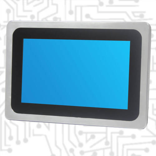 "7"" J1900 True Flat Touch Panel PC PCAP"