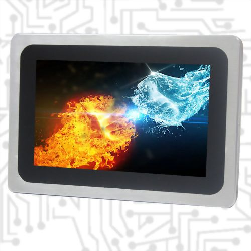 "7"" Intel E3845 Wide Temperature True Flat Touch Panel PC PCAP"