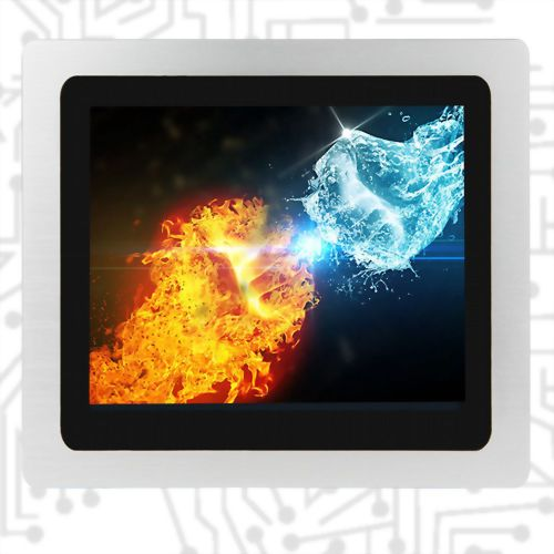 "12.1"" E3845 Wide Temperature  True Flat Touch Panel PC PCAP 5W"