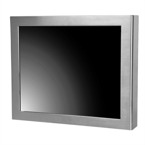 "17"" J1900 Full IP65 Touch Panel PC PCAP 5 wire resistive"