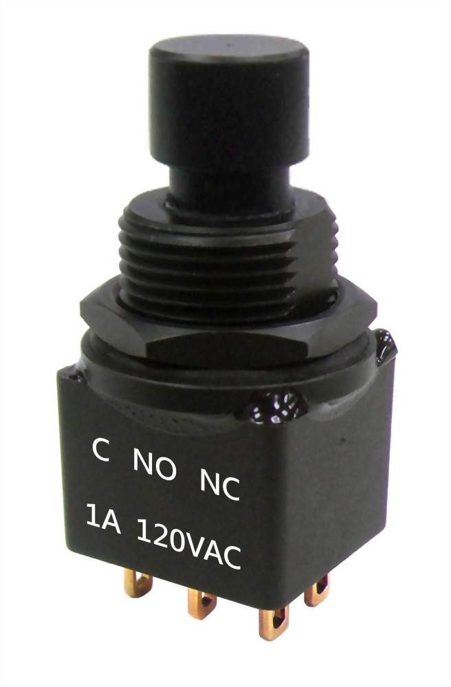 Series 700H Miniature NO/NC IP67 Pushbutton