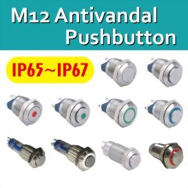 New Release of Anti-Vandal Pushbutton