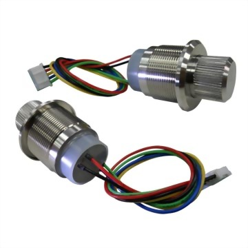 Series RE111F Rotary / Pushbutton IP68 encoder