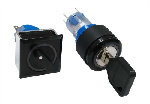 Series 180 Industrial IP40/IP65 Key / Selector