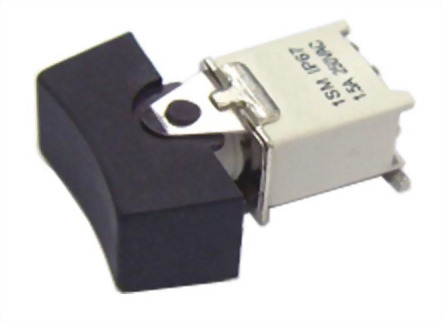 Series 400B Subminiature SMD IP67 Rocker