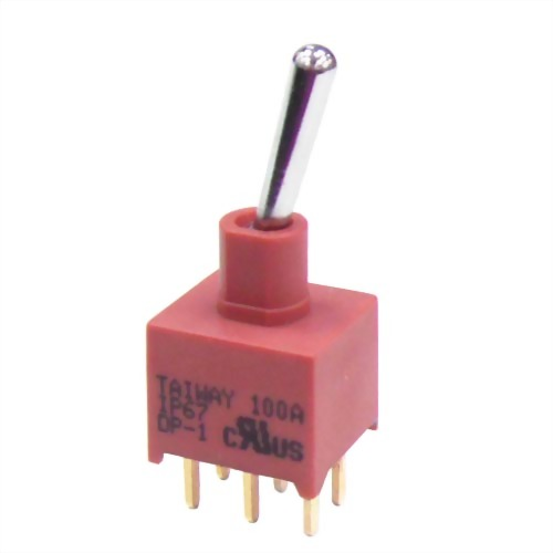 Series 100A Miniature IP67 Toggle