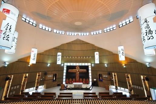 美濃真福山天主教教堂