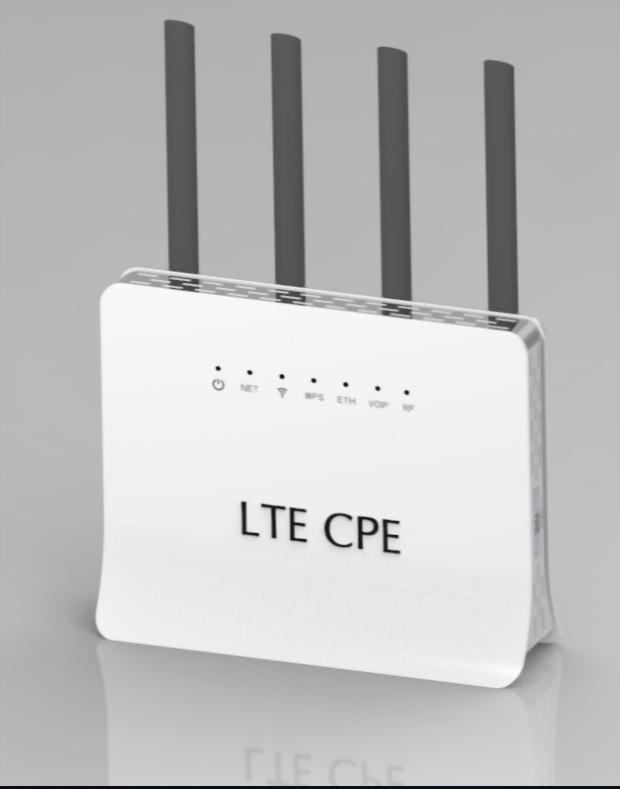MaxComm 4G VoLTE WiFi CPE Router WR-107
