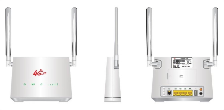 MaxComm 4G LTEVoLTE CPE WiFi Router WR-112