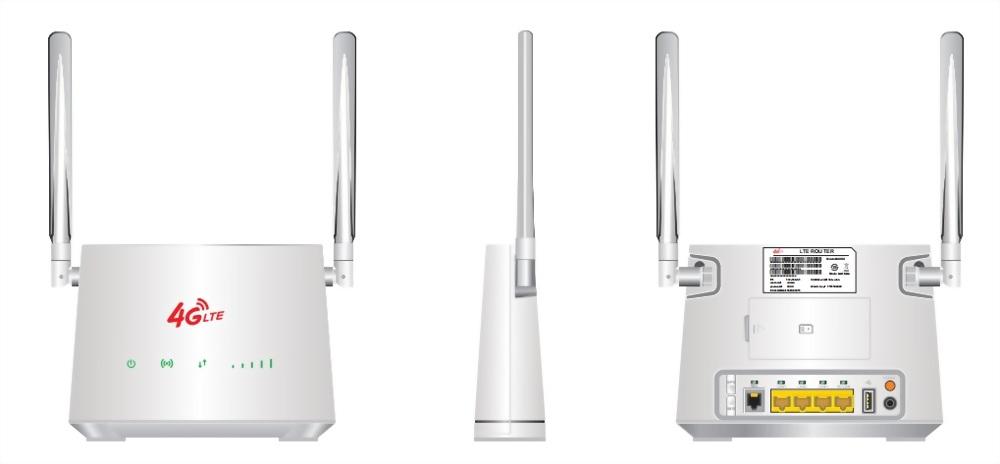 MaxComm 4G LTE Indoor CPE Router