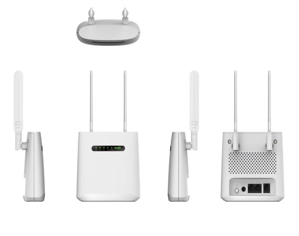 MaxComm 4G LTE Cat.6 CPE WiFi Router WR-116