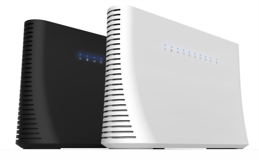 MaxComm 4G LTE Cat.6 CPE de doble banda WiFi 11AC Giga Router WR-126