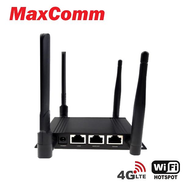 MaxComm 4G LTE Industry Indoor Modem Router M-100