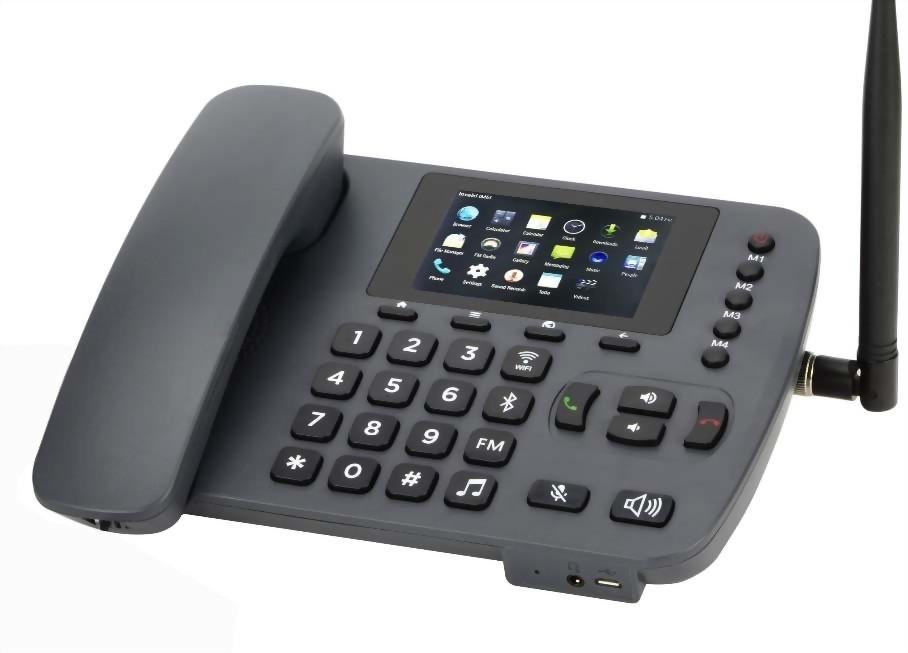 帶有WIFI HOTSPOT MW-66的4G固定無線電話