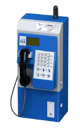 MaxComm Outdoor PSTN Coin Payphone with WiFi HotSpot