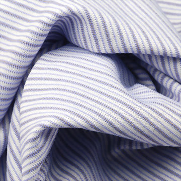 Silver yarn lightweight polyester/nylon/spandex jersey fabric for sports and casual wear use