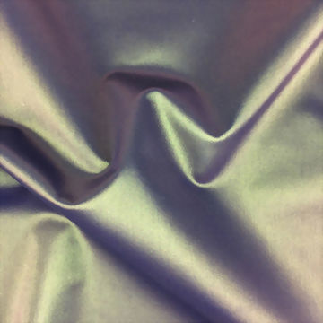 Iridescent Laminated Bonded poly/spx Jersey