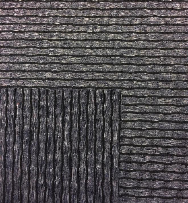 圓編針織單面緹花布