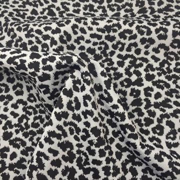 Nylon/Polyester/Spandex Leopard Jacquard Fabric