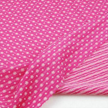 Nylon/Polyester/Spandex Jacquard Fabric