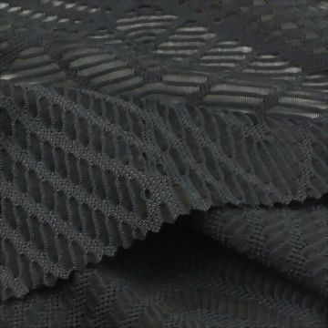 Jacquard Mesh Polyester/Spandex Fabric