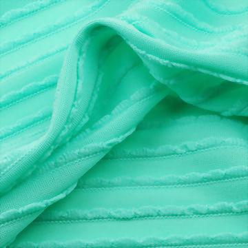 100%Polyester Jacquard Crochet