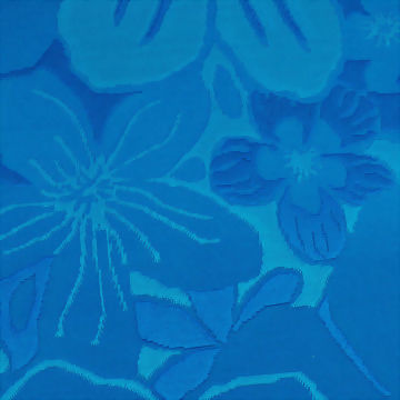 Polyester/Spandex Jacquard Fabric with 3-D Look